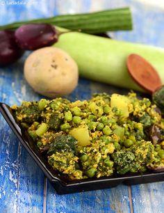 Panchkutiyu Shaak ( Gujarati Recipe) recipe | Gujrati Recipes | by Tarla Dalal | Tarladalal.com | #599