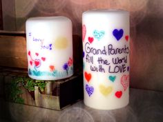 #Printed Candles, DIY #style creating #beautiful moments..