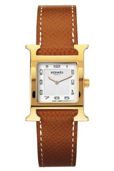 One to save up for, a great watch is a lifetime piece and one worth eschewing a fair amount of throw-away trendy items in favor of buying. Hermès H Heure watch, $2,350, Available at Hermès Boutiques Nationwide, hermes.com for store locations