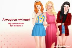 Always on my heart last Sims 3 creations by Anubis - Sims 3 Downloads CC Caboodle