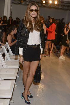 Front Row - Mercedes-Benz Fashion Week Spring 2014