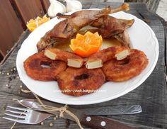teller-cook: Fácánsült rántott ananásszal cseréptálban sütve