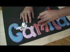 Fomi Tutorial - Como hacer un letrero resaltado 2 de 2 - YouTube