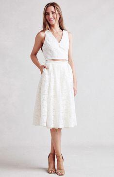 Paper Crown Marietta Skirt