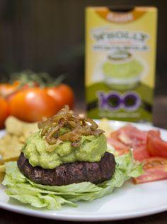 Recipe: Bunless Guac Burger