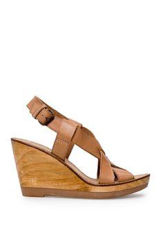 eef6fa7aa7e2 MANGO - Wood wedge sandals - 79.99 Keile, Mango Mode, Keilsandaletten, Schuhe  Sandalen
