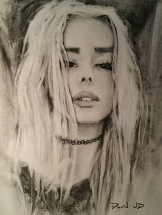 first charcoal sketch