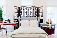 Vicente Wolf for ALB - eclectic - bedroom - new york - Rikki Snyder