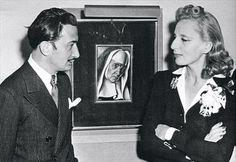 Salvador Dali and Tamara de Lempicka