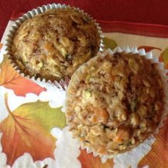 Sweet Potato Zucchini Muffins - Allrecipes.com