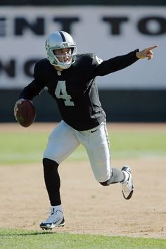 Derek Carr, Oakland Raiders. Bringing excitement back to the Raiders. Now, if the gangbangers would just stop claiming them.