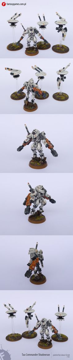Nice shadowsun. Whites are hard to pull off well in large amounts