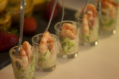 Stunningly presented delicacies delighted guests...