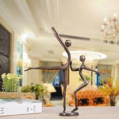 Double Dance Statue Modern Bronze Sculpture . . #dance #dancelife #sculpture #statuette #sweethomemake #interiordesign #interior #diyhomedecor #diyroomdecor #interiordesignideas #interiorstyling #decorative #homedecoration #homeandgarden #garden #ideas