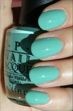 My nails are this fabulously seafoam green color. So clashy with absolutely everything.