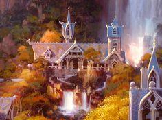 PAUL LASAINE: Portfolio: Lord of the Rings: Illustrations