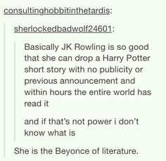 The Beyonce of Literature