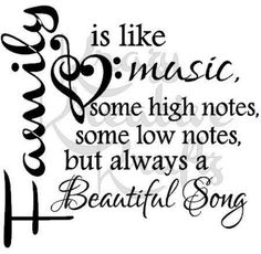 Ideas For Tattoo Music Notes Vinyl Decals Family Strength Quotes, Quotes About Strength, Happy Family Quotes, Family Sayings, Time With Family Quotes, Beautiful Family Quotes, Wall Sayings, Family Humor, Quotes Arabic