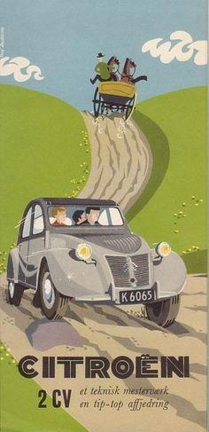 THE voiture de la famille pendant longtemps! Classic Motors, Classic Cars, Vintage Travel Posters, Poster Vintage, Vintage Advertisements, Vintage Ads, Ad Car, Car Posters, Car Advertising