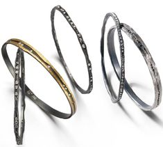 Modern contemporary bracelets Tap Todd Pownell