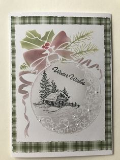 Christmas Stencils, Stampin Up Christmas, Handmade Christmas, Making Stencils, Holiday Cards, Christmas Cards, Snowflake Stencil, Autumn Cards, Interactive Cards
