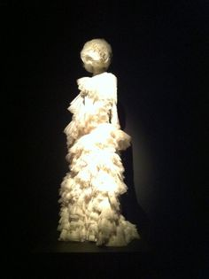 Wouldn't this McQueen masterpiece make an amazing wedding dress?