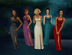 new years gowns | skell