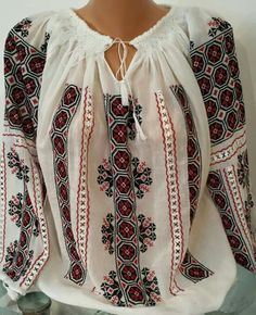 Folk Costume, Costumes, Floral Tops, Ethnic, Anthropologie, Bell Sleeve Top, Embroidery, Sewing, Clothes