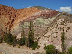 Norte Argentino Cerro de los 7 colores