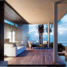 Afternoon at the Hotel Alila Villas Soori in Bali by SCDA Architects. #modern_interiordesign