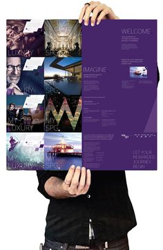 Starwood Preferred Guest visual language re-design
