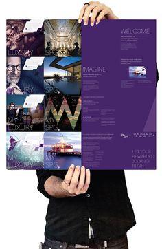 Starwood Preferred Guest visual language re-design