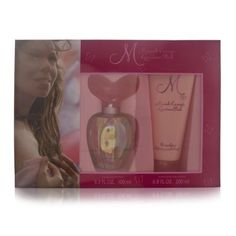 Mariah Carey M Luscious Pink Women Giftset (Eau De Parfum Spray, Moisturizing Body Lotion) $34.56