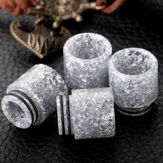 Silver Amber Epoxy Resin Drip Tips for TFV8 TFV12 TANK / KENNEDY RDA