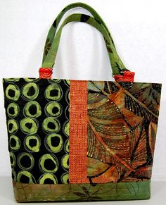 Quilted Tote  PDF Download Pattern by TerriStegmillerArt on Etsy, $8.00