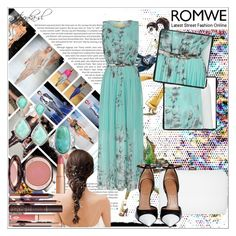 """A dress to remember with Romwe.com^"" by nastyonka-sl ❤ liked on Polyvore"