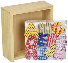 Vilac Set of 56 Alphabet Magnets