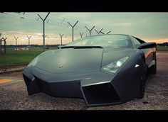 Lamborghini Reventon - this looks like a car for Batman