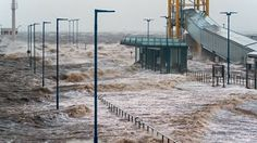 Hurricane Force Storm #Xaver Kills 2 in The #UK and 1 in #Denmark