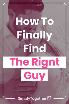 Do the guys you choose to date keep on disappointing you over and over again? Knowing how to find the right guy requires the right mindset. These three big truths helped me finally meet and get together with the love of my life. Unhappy Relationship, Past Relationships, Relationship Problems, Relationship Advice, Be Honest With Yourself, Love Advice, Meaning Of Love, The Right Man, Finding True Love