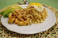 Riso saltato Nasi Goreng indonesiano