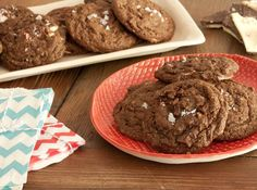 Peppermint Bark Chocolate Cookies - 25 Homemade Holiday Food Gift Recipes  on HGTV