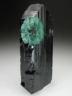 Azurite & Malachite from the Tsumeb Mine, Tsumeb, Otjikoto Region, Namibia, Africa.