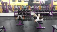 When lunk at planet fitness     I shouldn't have laughed as hard as I did.