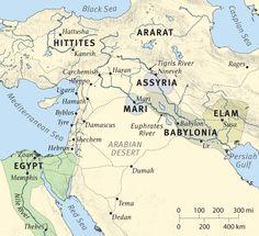 Sodom Und Gomorrha Karte
