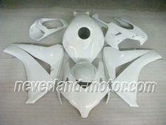 Honda CBR 1000RR 2008-2009 ABS Verkleidung - Alle weiß #verkleidungcbr1000rr2008 #cbr1000rrverkleidung09