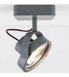Zuiver Wandlamp DICE-1 LED staal grijs 12x12cm - wonenmetlef.nl