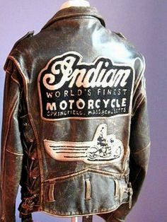 RESERVED FOR DEREK Vintage Authentic Indian Brown Leather Motorcycle Jacket. This Jacket is in good vintage condition. Vintage Bikes, Vintage Motorcycles, Cars And Motorcycles, Brown Leather Motorcycle Jacket, Motorcycle Gear, Leather Jackets, Motorcycle Jackets, Vintage Leather Jacket, Motorcycle Accessories