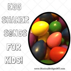 Today's post features two children songs that are great for using with egg shakers! These two songs come from The Laurie Berkner Band, and I love to use them with my children groups. If you h…