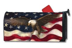 american flag mailbox - Google Search